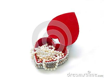 Pearl Heart Box