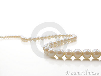 Pearl Necklace Stock Photo - Image: 17141660