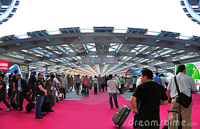 Pearl promenade of canton fair Editorial Photography