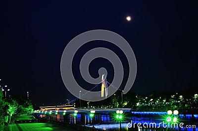 Pearl River night scene