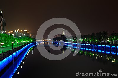 Pearl River night scene