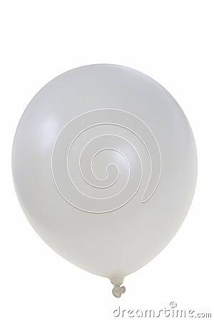 Pearl white balloon
