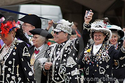 Pearly Kings Editorial Image