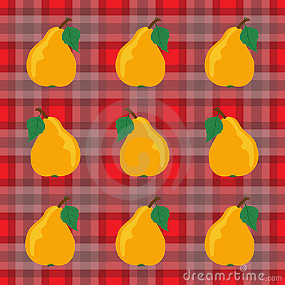 Pears and Gingham