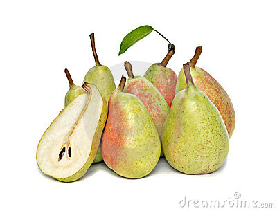 Pears and half