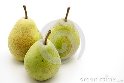 Pears with stem