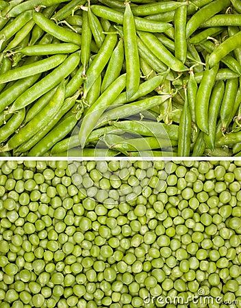 Peas background