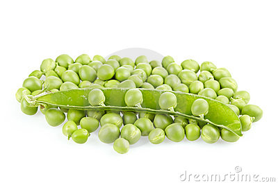 Peas with pod