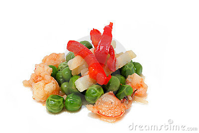 Peas and prawns 2