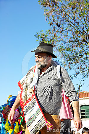 Peasant at alentejo region, Portugal Editorial Photo