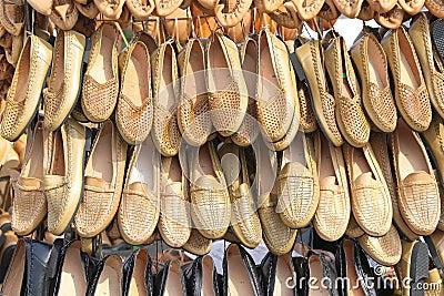 Peasant footwear