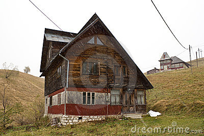 Peasant houses