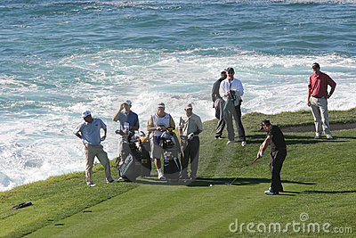Pebble Beach 2006 pga golf tour Editorial Stock Photo