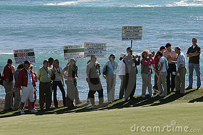 Pebble Beach 2006 pga golf tour Editorial Photo