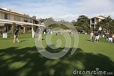 Pebble Beach 2006 pga golf tour Editorial Image