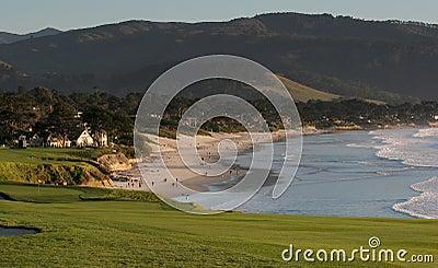 Pebble beach golf course, ca