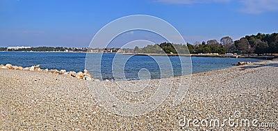 Pebble beach panorama