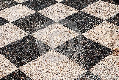 Pebble mosaic, Halki island