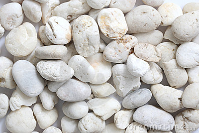 Pebble rock and stone