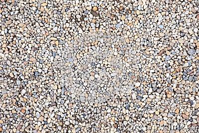 Pebble stone as background.