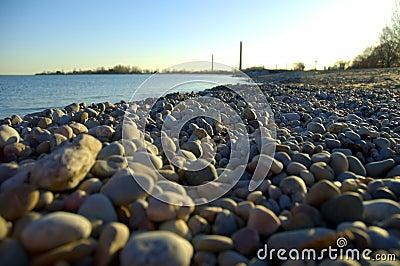 Pebbled Shoreline