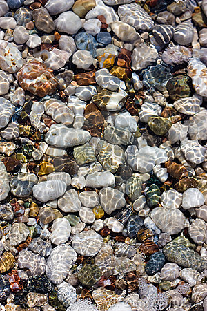 Free Pebbles And Water Royalty Free Stock Image - 22381266