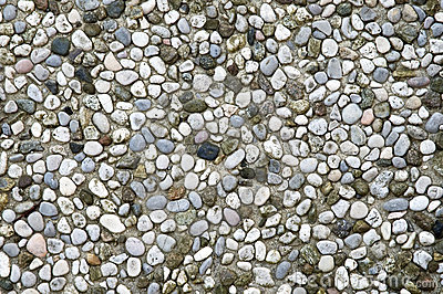 Pebbles mosaic