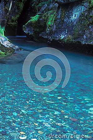 Pebbles in Stream