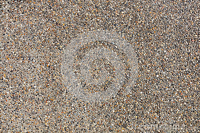Pebbles wall