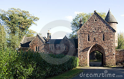Peckforton Castle Gatehouse