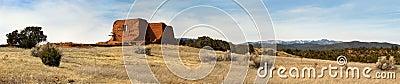 Pecos National Historic Park New Mexico along Sant