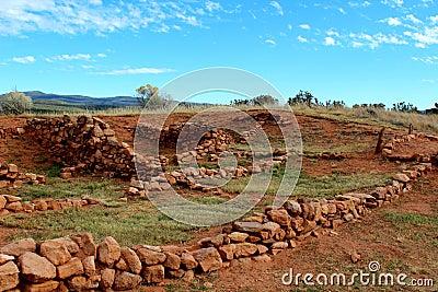 Pecos ruin walls