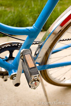 Free Pedal And Middle Part Of A Bicycle Stock Photo - 4885600