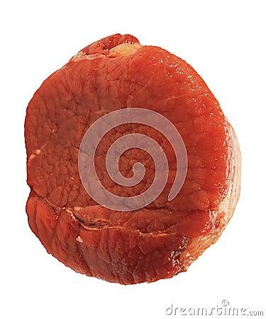 Pedazo de carne del apetito