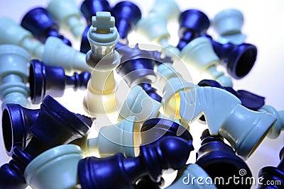 Pedazos de ajedrez