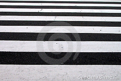 Pedestrian crosswalk texture