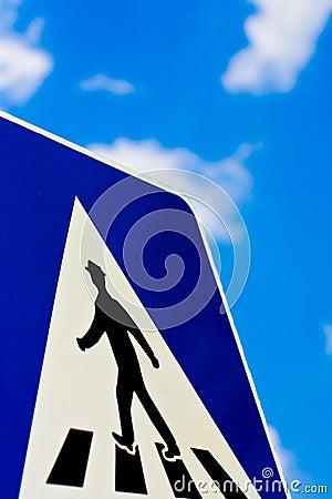 Pedestrian Footpath Sign