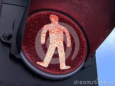 Pedestrian Red Light