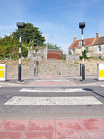Pedestrian Road Crossing