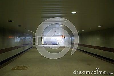 Pedestrian Underground Tunnel