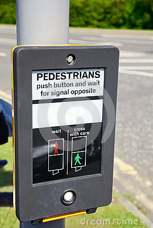 Pedestrian Wait Sign