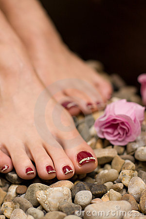 Free Pedicure Stock Image - 8693551