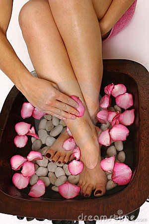 Free Pedispa - Indulgence For Feet Royalty Free Stock Images - 1595199
