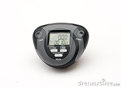 Pedometer and Pulse meter