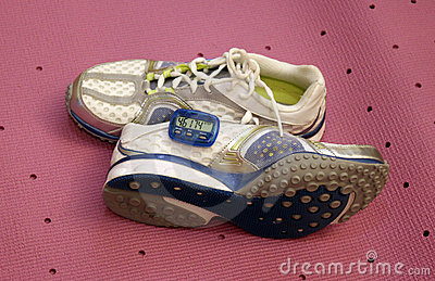 Pedometer & shoes
