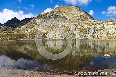 Pedourres lake - Andorra, Pyrenees