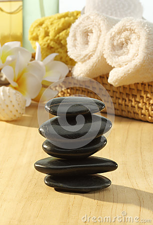 Pedras da massagem