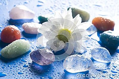 Pedras de gema da cura