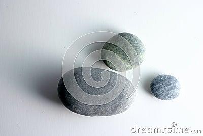 Pedras redondas