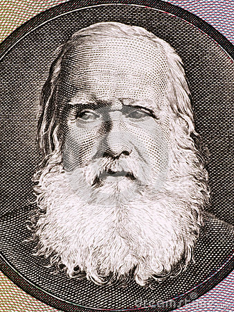 Pedro II of Brazil Editorial Photography